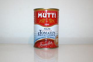 04 - Zutat stückige Tomaten / Ingredient tomatoes