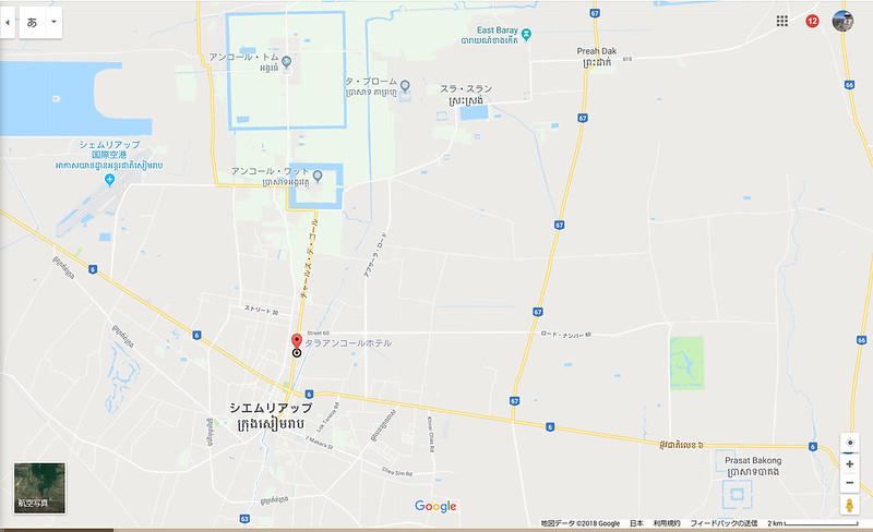 3-00-アンコールワットへ地図