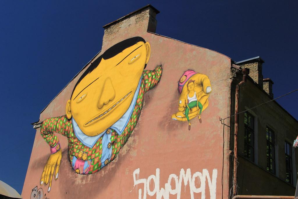 Street art, Pylimo gatvé