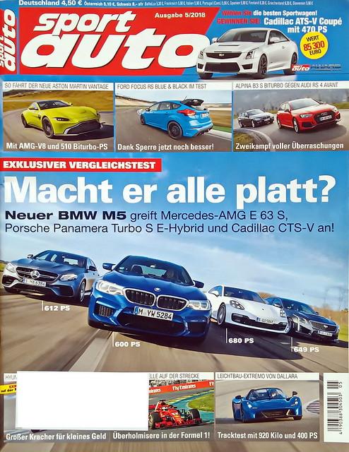 sport auto - 2018-05 - cover