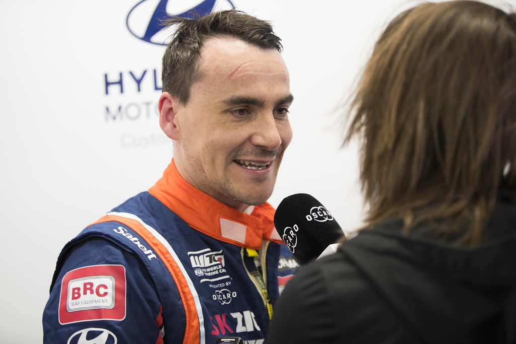 MICHELISZ Norbert (HUN), BRC Racing Team, Hyundai i30 N TCR, portrait during the 2018 FIA WTCR World Touring Car cup, Race of Hungary at hungaroring, Budapest from april 27 to 29 - Photo Gregory Lenormand / DPPI