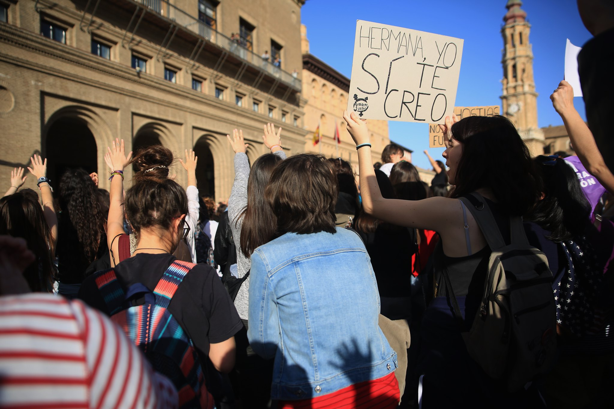 Manifestación La Manada Zaragoza (15)