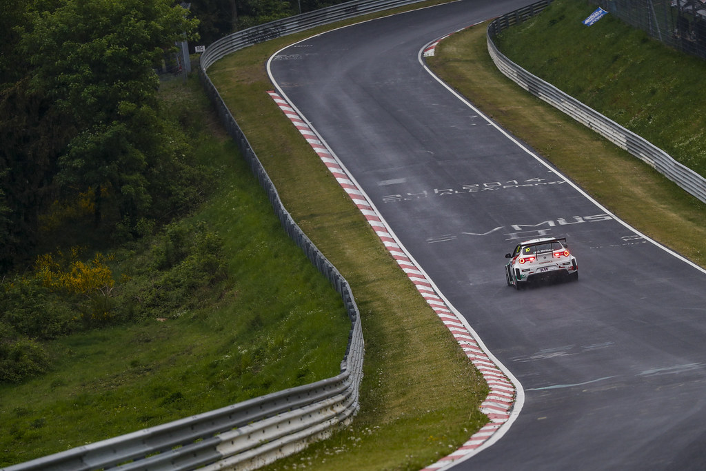 10 MORBIDELLI Gianni (ITA), Team Mulsanne, Alfa Romeo Giulietta TCR, action during the 2018 FIA WTCR World Touring Car cup of Nurburgring, Germany from May 10 to 12 - Photo Florent Gooden / DPPI