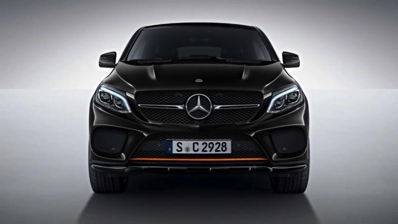 Mercedes AMG RedArt OrangeArt