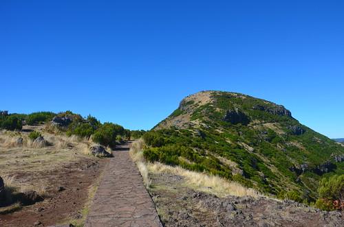 Der Weg zum Pico Ruivo ist in der Tat geplastert.