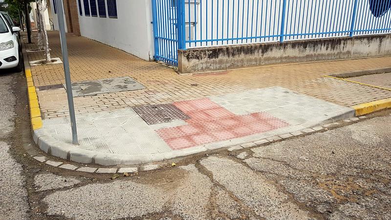 """Obras del Supera V de Diputación de Sevilla, correspondientes al Proyecto """"Adecuación de viarios públicos"""""""