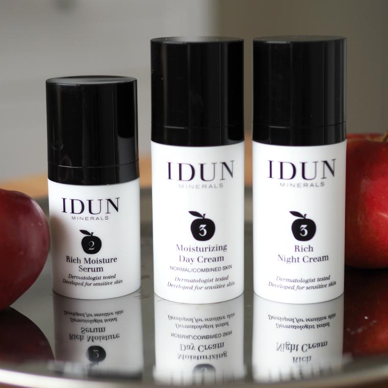 IDUN Minerals seerumi ja kasvovoiteet