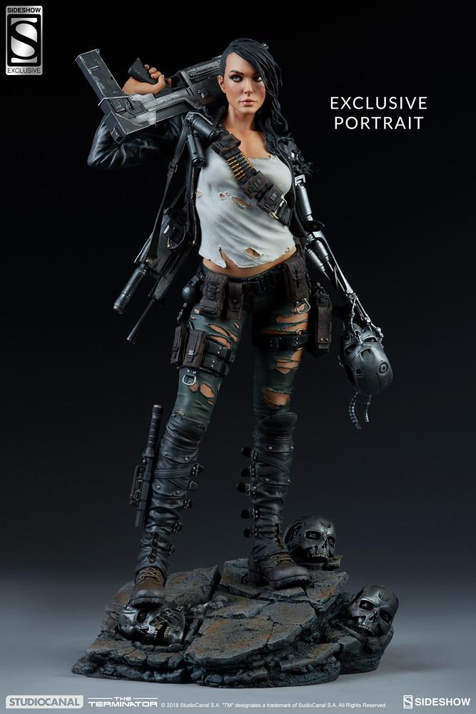 反抗天網的全新力量!? Sideshow Collectibles Mythos Premium Format Figure 系列 魔鬼終結者【反叛魔鬼終結者】Rebel Terminator 1/4 比例全身雕像作品
