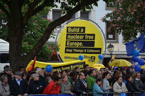 2018 - Action anti-nucléaire à Aix-la-Chapelle