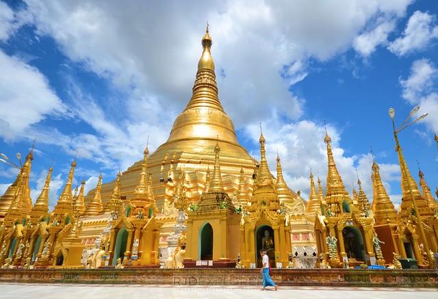 myanmar itinerary shwedagon pagoda yangon