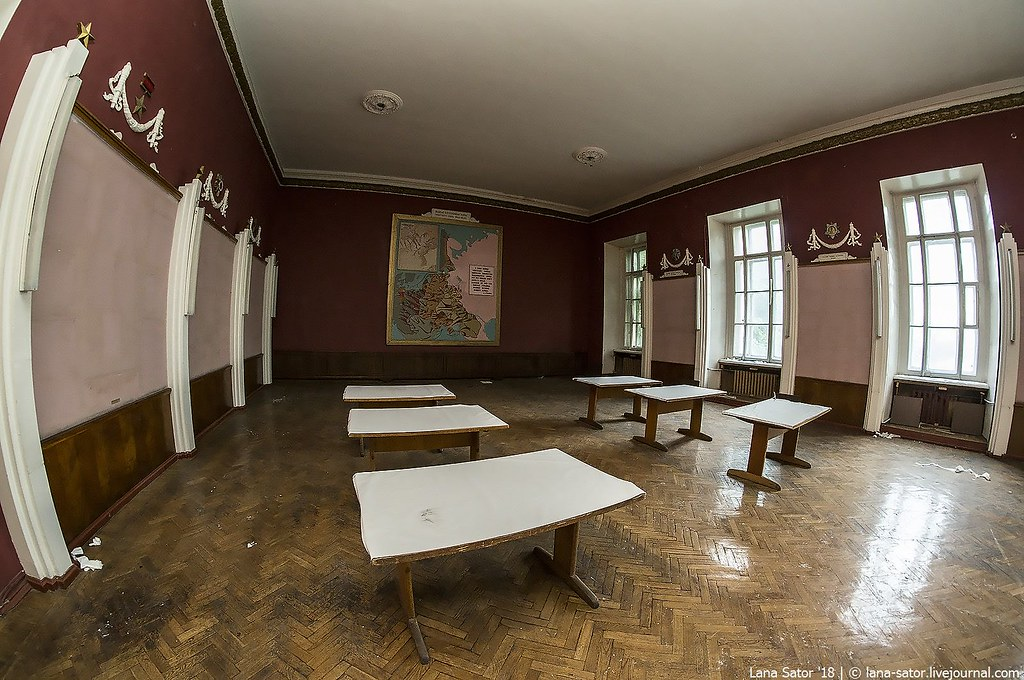 Заброшенная академия РВСН в центре Москвы