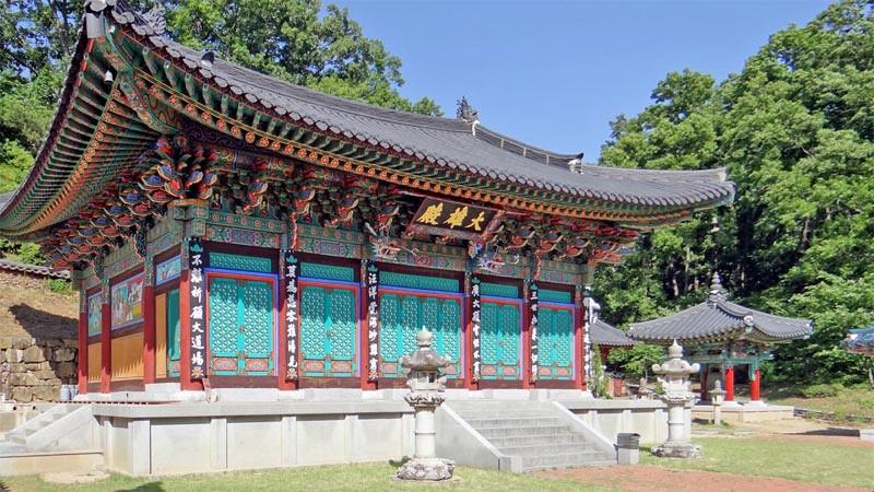 Daeheungsa di Haenam, Jeolla Selatan.