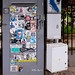 Roma. Ostia. Sticker art by... see down in description... by R come Rit@
