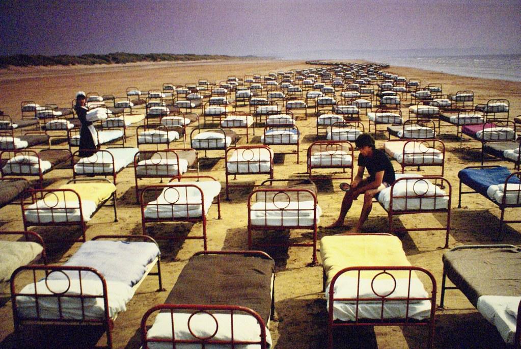 > Expo Pink Floyd au Macro de Rome : Pochette de A Momentary Lapse of Reason.