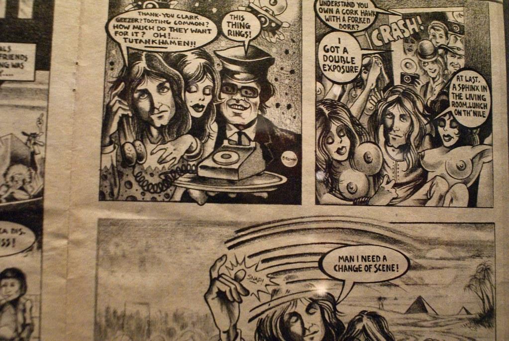 > Expo Pink Floyd au Macro de Rome : Comic autour des Pink Floyd.
