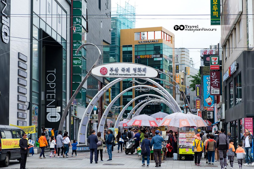 Busan Itinerary BIFF Plaza
