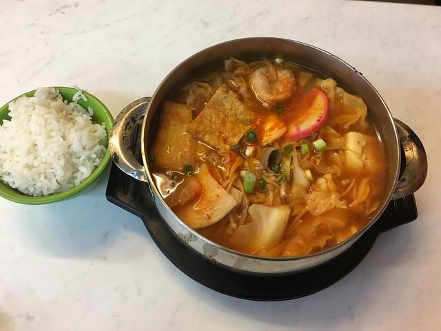 豬肉泡菜鍋(NTD$150)@台北松山全羅道韓式拌飯