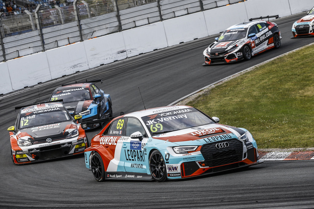 69 VERNAY Jean-Karl, (fra), Audi RS3 LMS TCR team Audi Sport Leopard Lukoil, action during the 2018 FIA WTCR World Touring Car cup of Zandvoort, Netherlands from May 19 to 21 - Photo Jean Michel Le Meur / DPPI