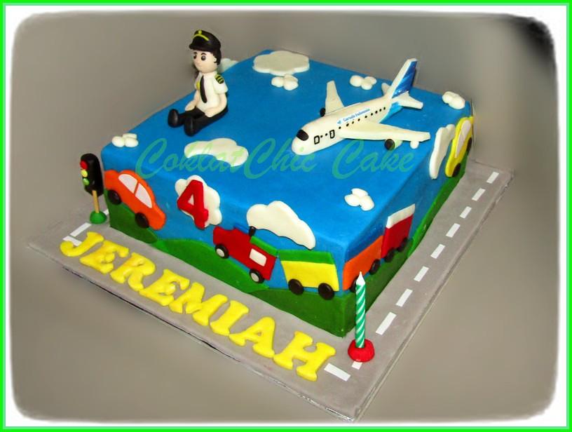 cake Pilot JEREMIAH 18 CM