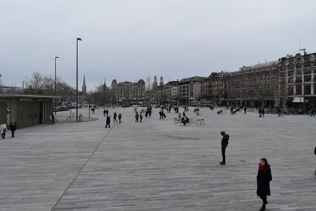 Parque Sechseläutenplatz