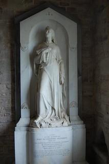 Holme Lacy, St Cuthbert's church, memorial
