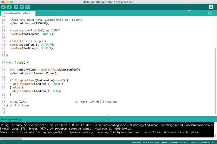 Wk13  Interface & App Programming • FabAcademy