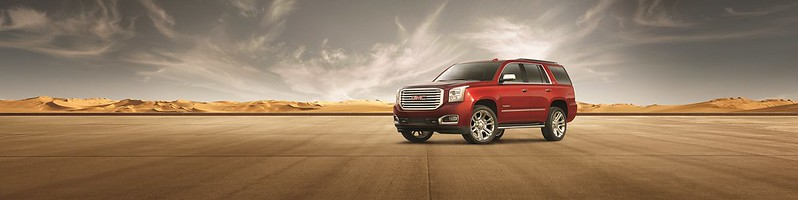 GMC Yukon Denali Red 25th edition carbonoctane