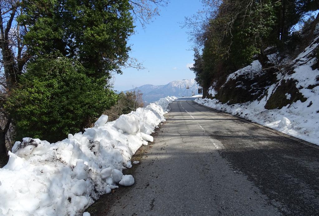 Piedicroce, route vers Morosaglia