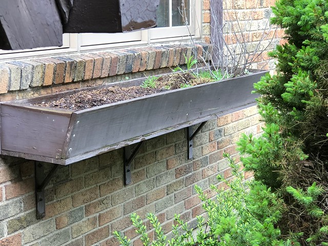Window box-additional gardening space
