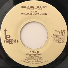 WILLIAM DEVAUGHN:FIGURES CAN'T CALCULATE(LABEL SIDE-B)