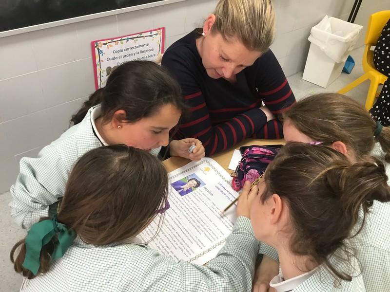 Libroforum madres- hijas en 4º de Primaria