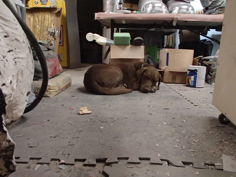 Tiki Resting