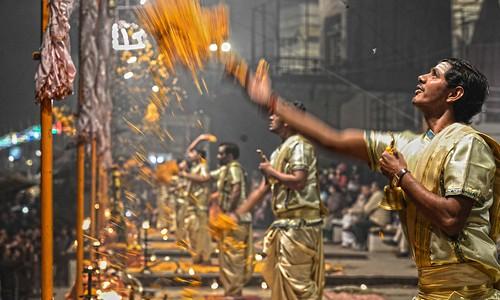 Ganges Arti Varanasi DSC_8720