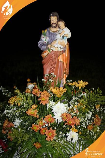 Missa Solene, Visita da Relíquia de São Francisco e Entrega da relíquia em Bacabal/MA