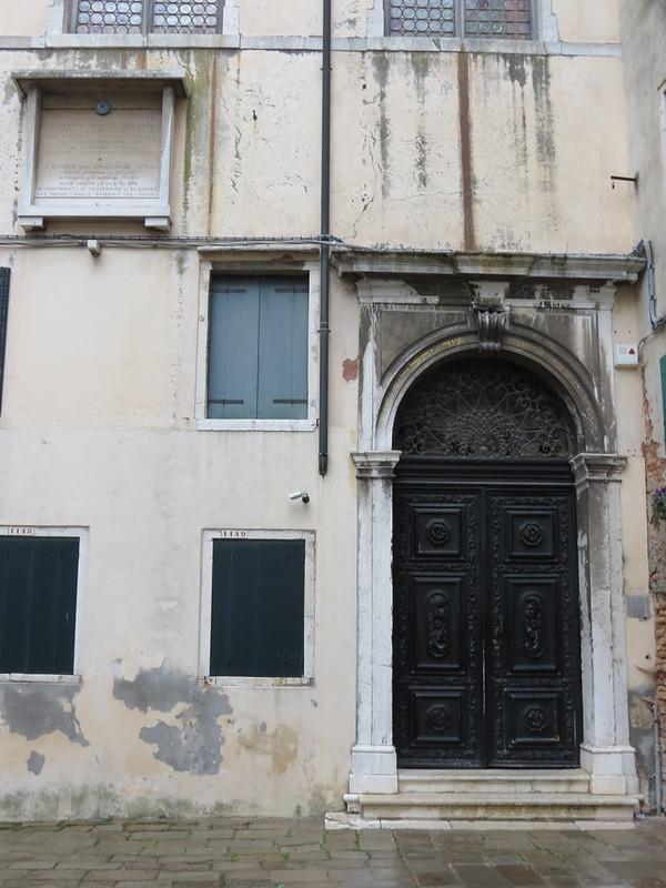 Ghetto di VeneziaSinagoga spagnolaIMG_2634