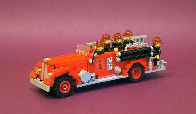 Bickle Seagrave fire truck