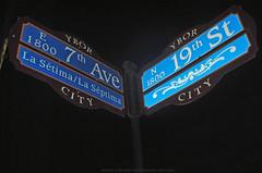 Ybor City Street Sign