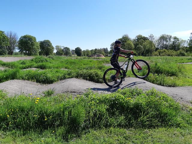 Mountainbike-premiär på Öland