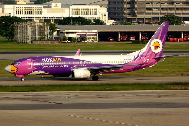 HS-DBU Boeing 737-88L/W NOK  DMK