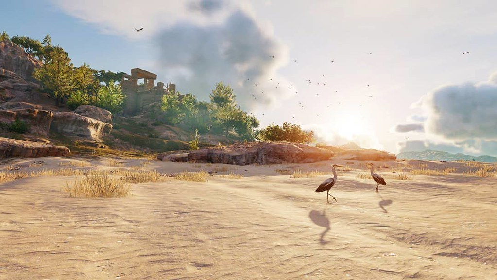 Assassins Creed Origins • Nature × Sea