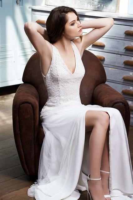FABIENNE ALAGAMA - robe de mariée sur mesure - Petra