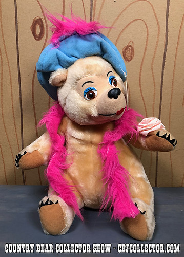 1992 Disneyland Teddy Bear Classic Teddi Barra - Country Bear Collector Show #153