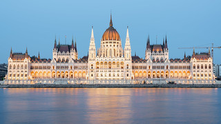 Hungarian Parliament Building - Frontal view