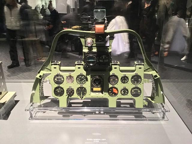 零戦三十二型甲 計器盤 IMG_2464