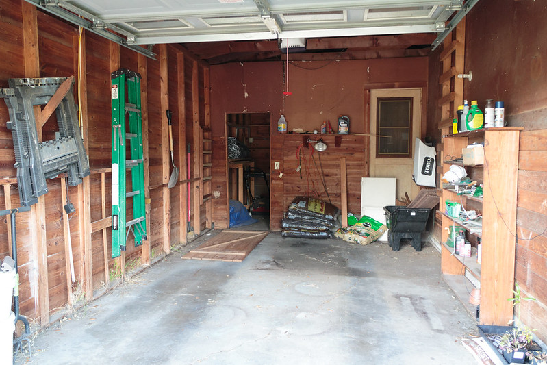 Garage Remodel Project - Before