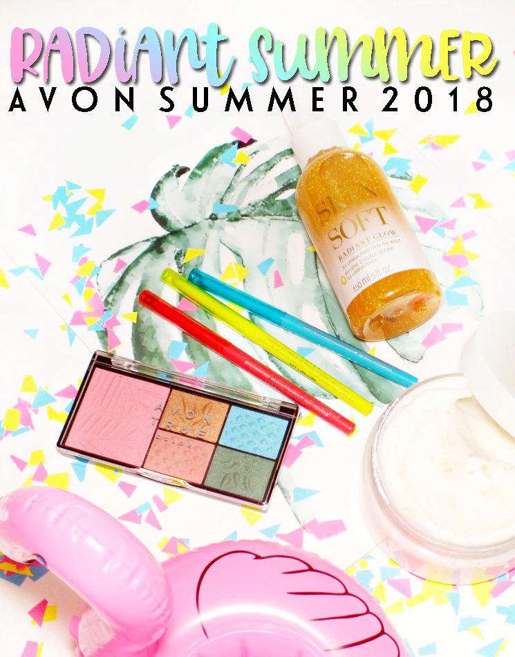 avon radiant summer 2018