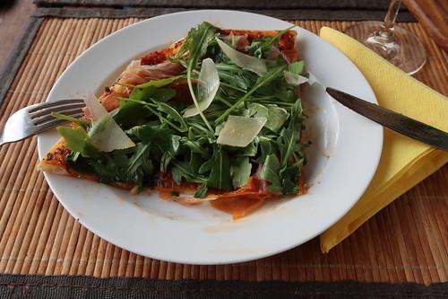 Pizza Parma (mein 2. Viertel)