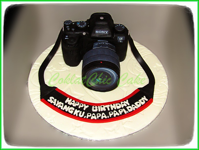 Cake Camera SONY A9 Real Size