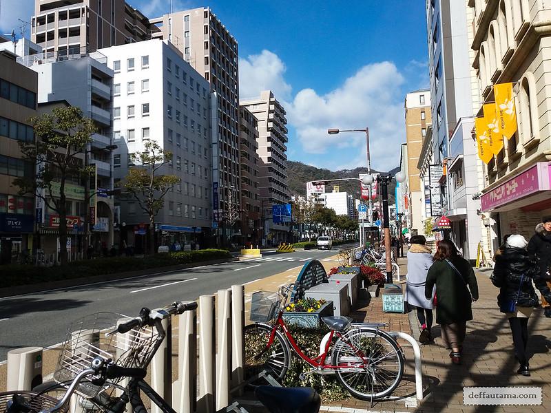 9 Hari Babymoon ke Jepang - Pedestrian Walk