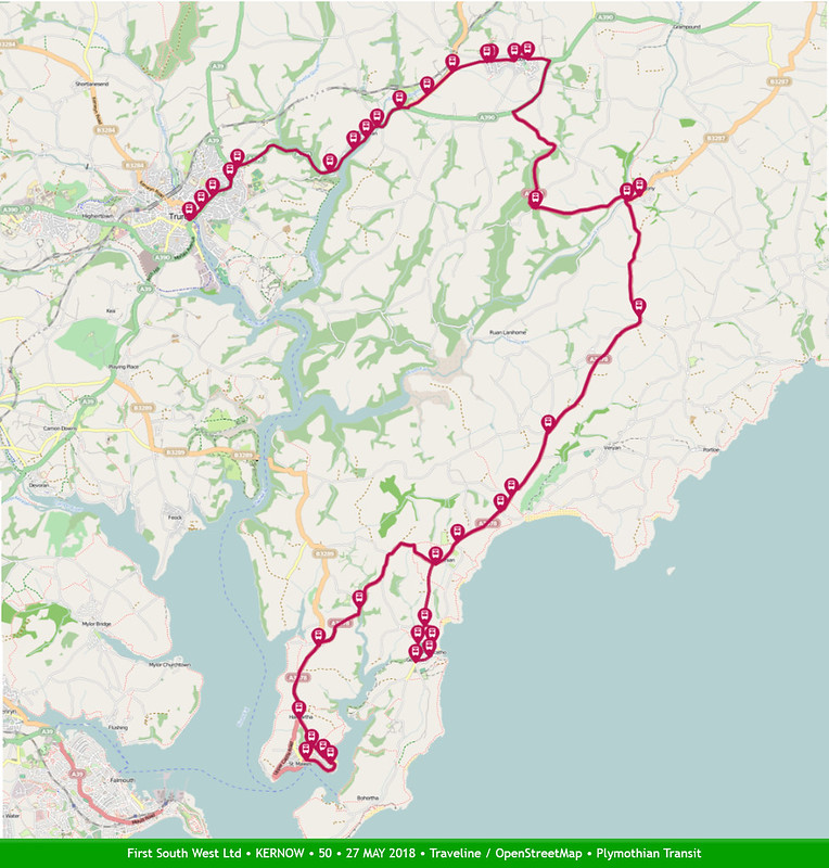 FIRST SOUTH WEST LIMITED 50 MAP